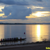 Thumbnail image for Photo of the week: Rowers on the Mekong River at Sunset in Vientiane, Laos