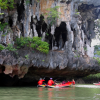 Thumbnail image for Canoeing Through Sea Caves in Phang Nga Bay, Thailand