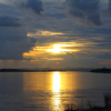 Thumbnail image for Photo Essay: As the sun sets on the Mekong River in Vientiane, Laos
