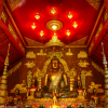 Thumbnail image for Ancient Bronze Buddha at Wat Phra Kaew in Chiang Rai, Thailand