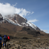 Thumbnail image for Hiking towards the Lava Tower on Mount Kilimanjaro, Tanzania