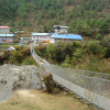 Thumbnail image for The Bridge at Phakding, Nepal