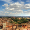 Thumbnail image for View to the countryside in Siena, Italy