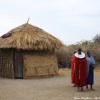 Thumbnail image for Mud hut in a Masai Village at Lake Manyara, Tanzania