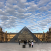 Thumbnail image for View of Napoleon Courtyard at the Louvre in Paris