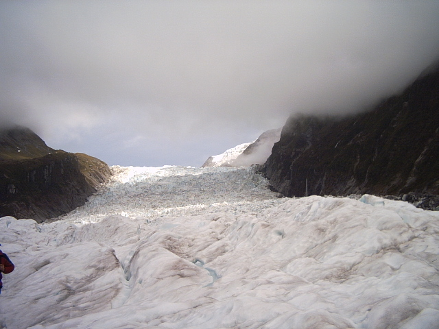 View of Fox Glacier New Zealand