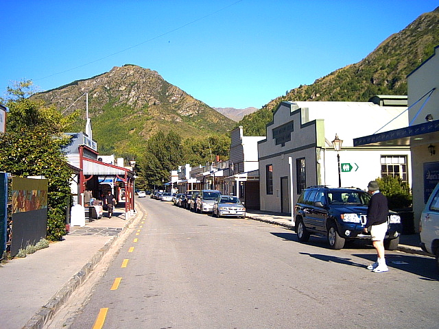 Arrowtown near Queenstown, New Zealand