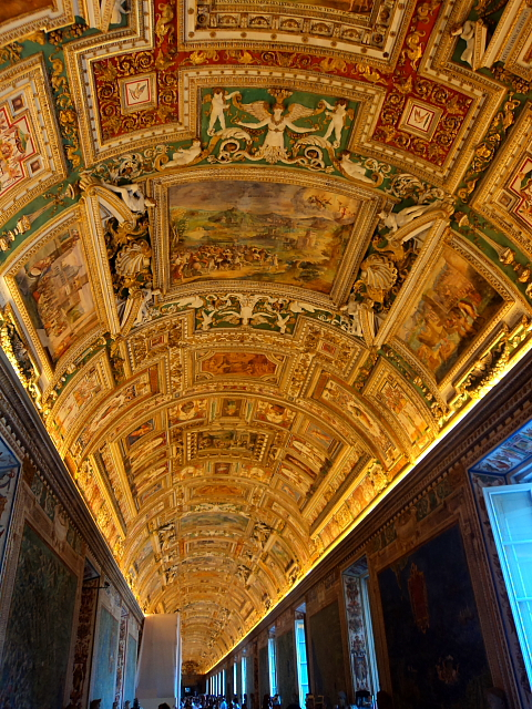 The Gallery of Maps in the Vatican City Museums