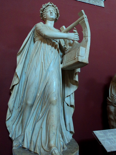 statue in the Vatican museums