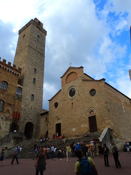 Collegiate Church in San Gimignano, Italy