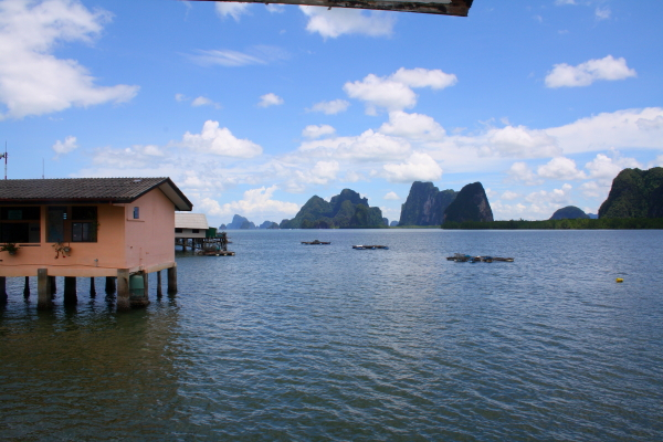 View from Koh Panyee School, Thailand