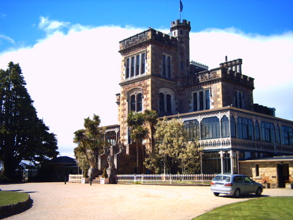 Larnach Castle on the Otago Peninsula, Dunedin, New Zealand