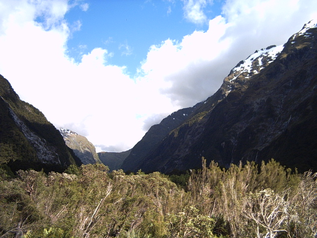 Clinton Valley on the Milford Track, New Zealand