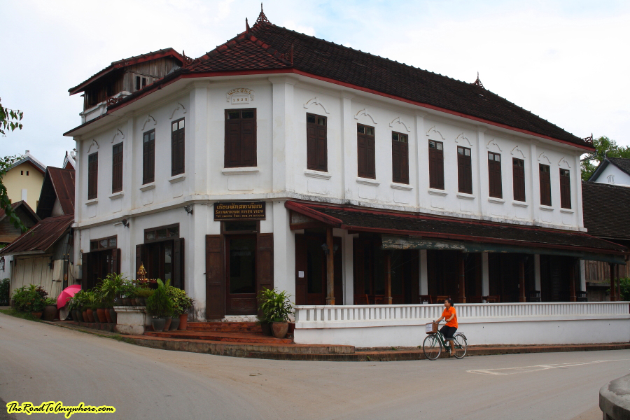 Old house in Luang Prabang, Laos