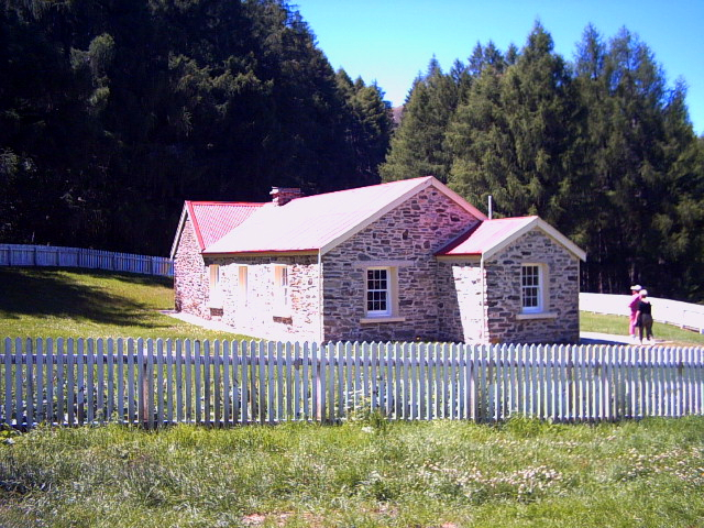 Skipper's Schoolhouse in Skipper's Point, New Zealand