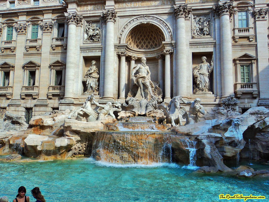 Trevi Fountain in Rome, Italy