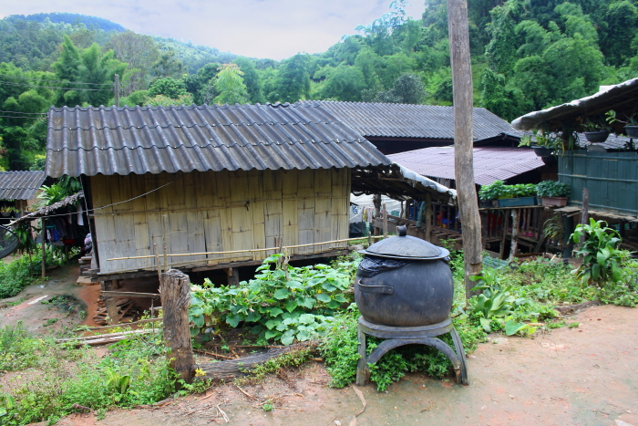 White karen Village in Northern Thailand