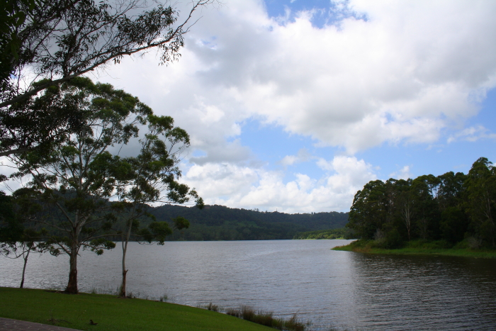 Lake Baroon in Maleny, Australia