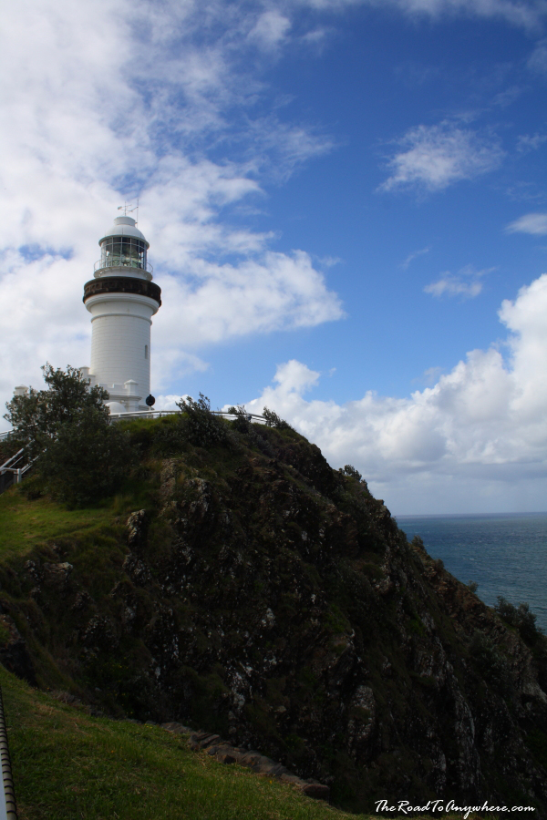 Cliff at the Cape Byron Lighthouse in Byron Bay, Australia