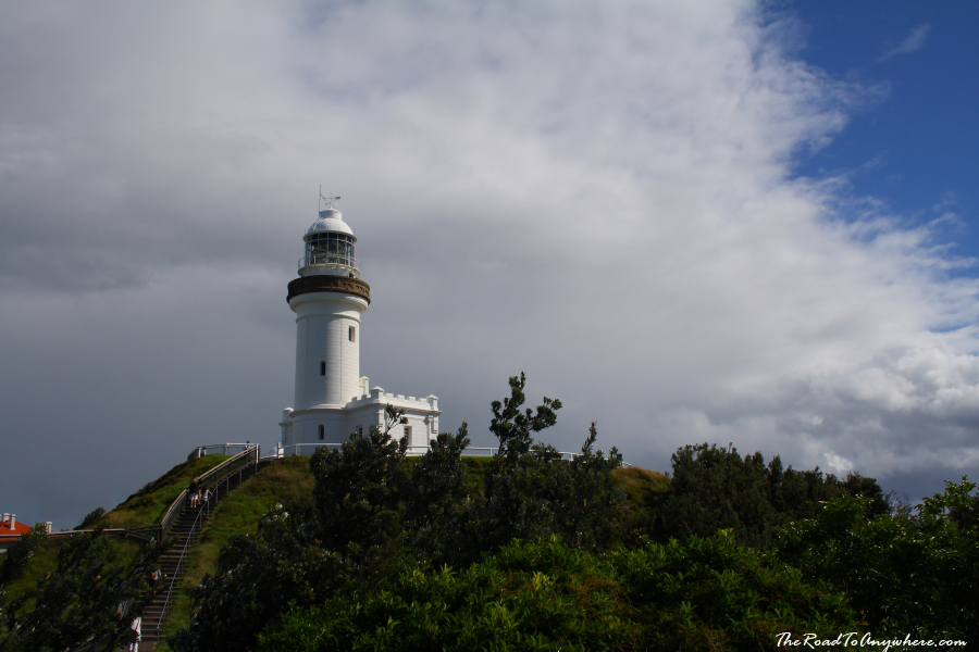 The Cape Byron Lighthouse in Byron Bay, Australia
