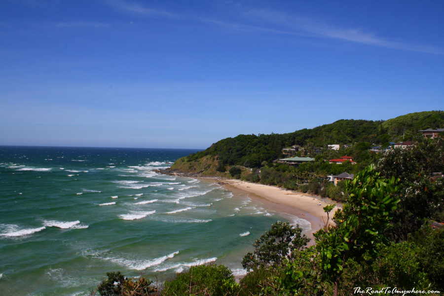Watego's Beach in Byron Bay, Australia