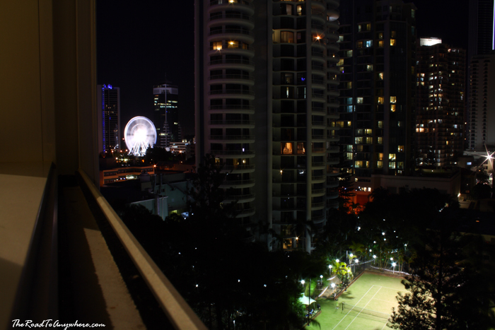 Surfer's Paradise at Night in Gold Coast, Australia