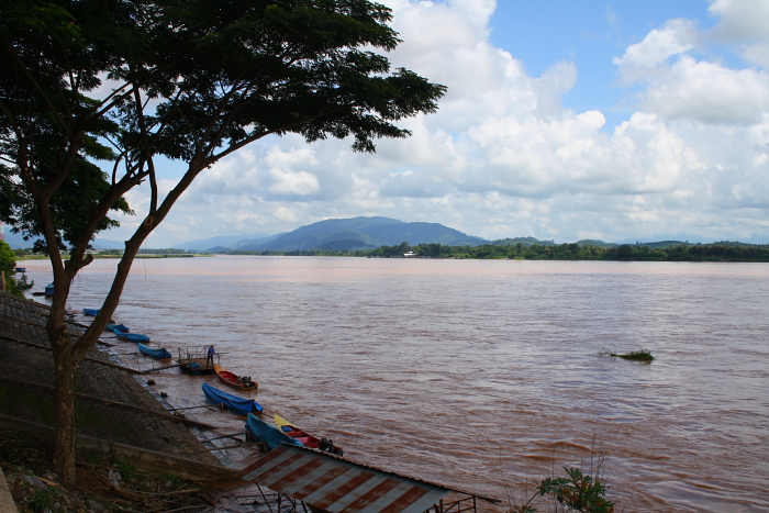 The Mekong River in Chiang Saen, Thailand