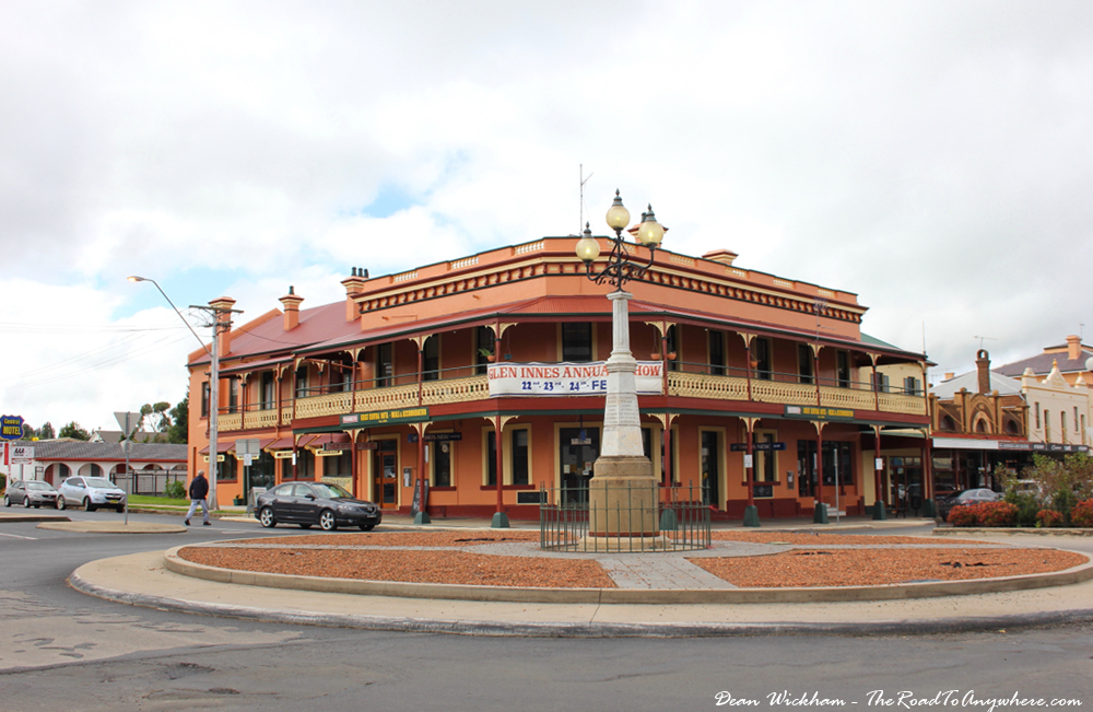 Glen Innes Australia  city photo : Old Pub in Glen Innes, Australia | Travel Photo