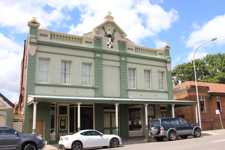 An old Theatre in Lithgow, Australia