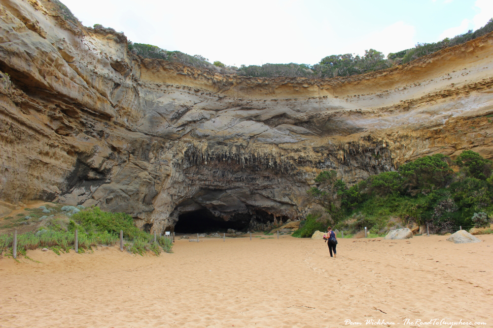 A cave in Loch Ard Gorge on the Great Ocean Road, Australia