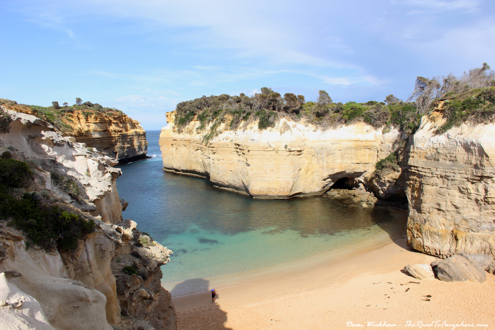View of Loch Ard Gorge on the Great Ocean Road, Australia