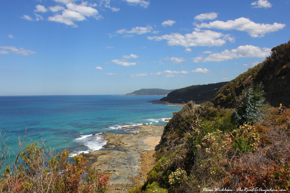 Rugged coastal view on the Great Ocean Road, Australia