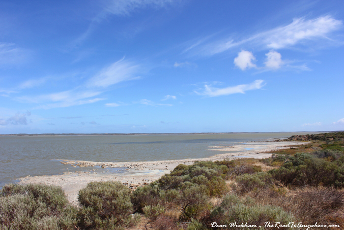 View of the Coorong in South Australia