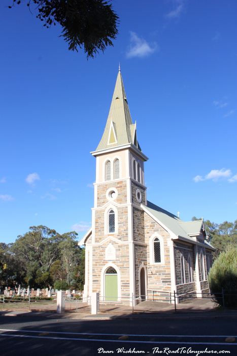 Beautiful church in Eden Valley, South Australia