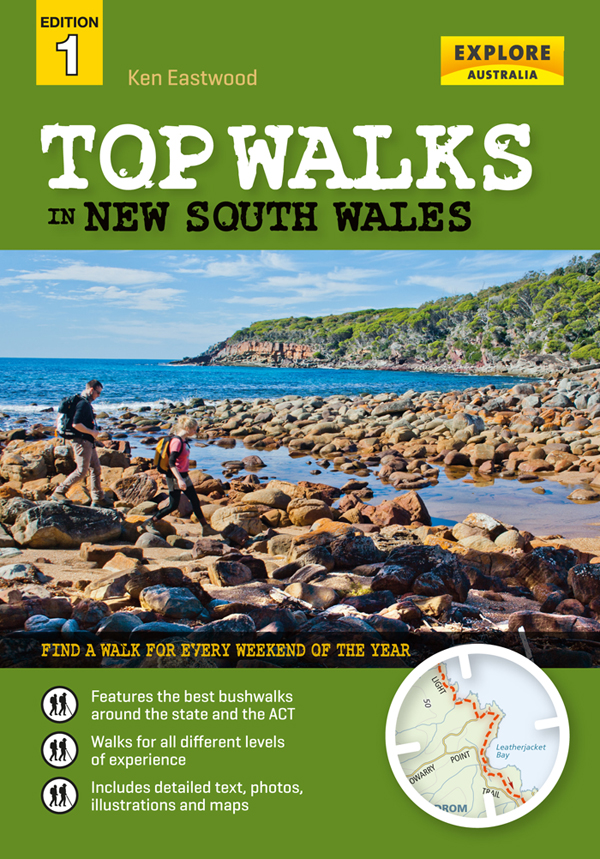 Top Walks in New South Wales Book Cover