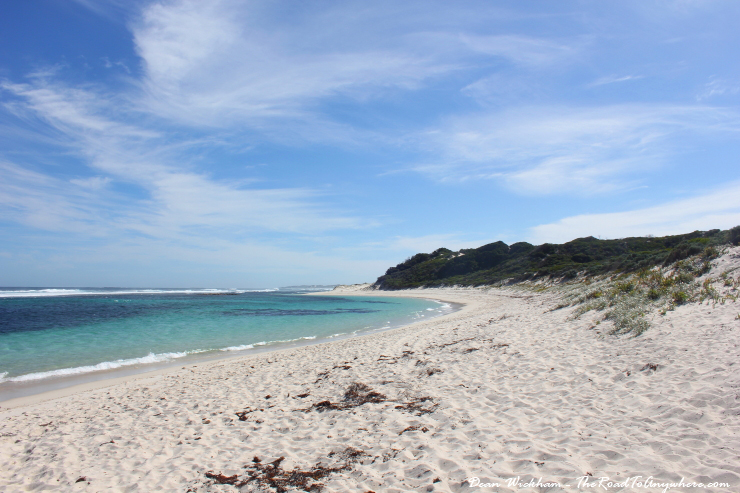 Relaxing at beautiful Munglinup Beach, Western Australia