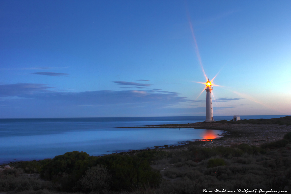 Lighthouse at Point Lowly, South Australia