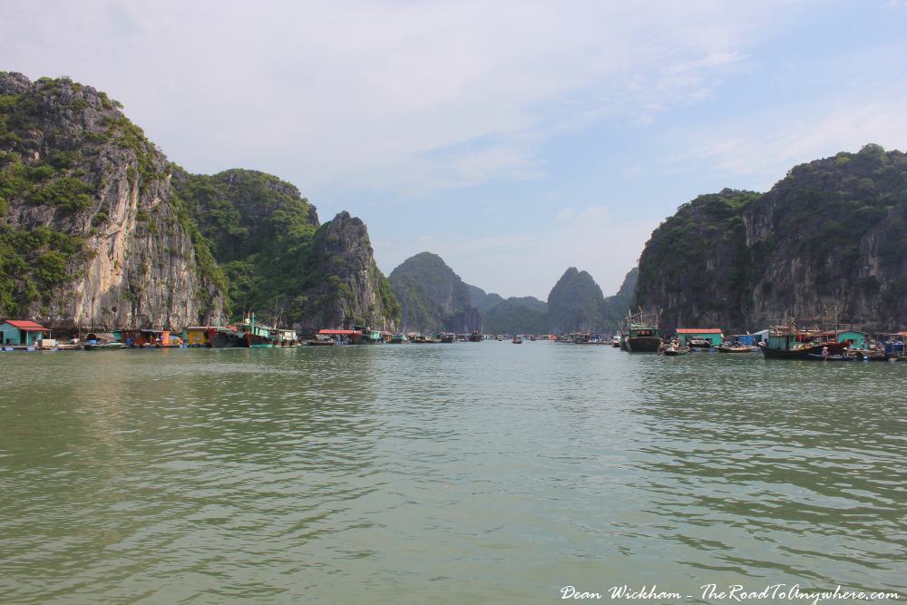 Cruising Han La Bay in Vietnam