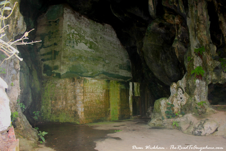 The Hospital Cave on Cat Ba Island, Vietnam