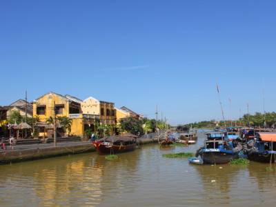 Hoi An Boats and River