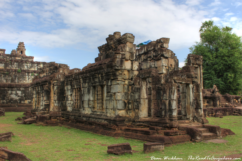 Ruins at Bakong in Angkor, Cambodia