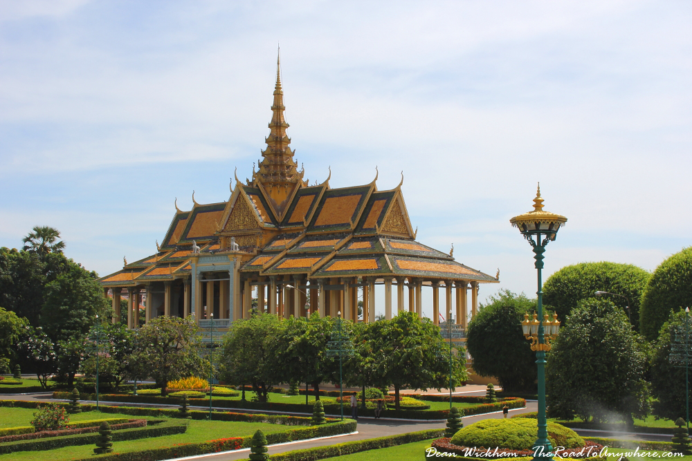 Moonlight Pavillion in the Royal Palace in Phnom Penh, Cambodia