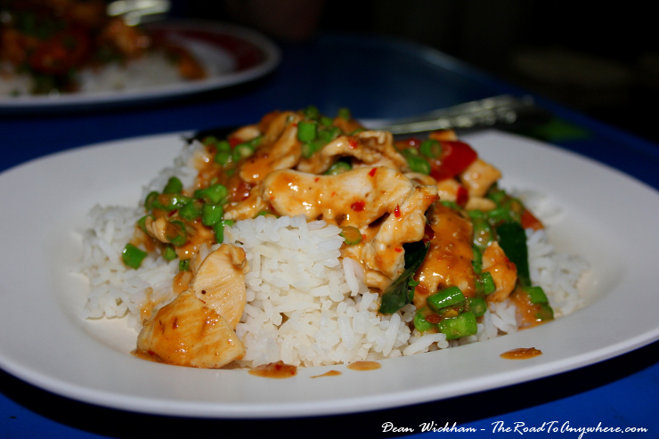 Chicken Panang Curry in Chiang Mai, Thailand