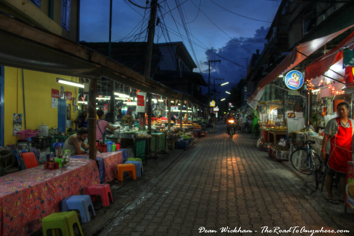 Sompet Market in Chiang Mai, Thailand
