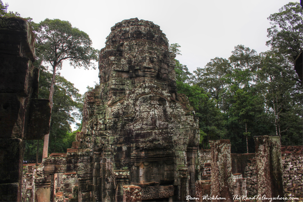 Tower at Bayon in Angkor Thom, Cambodia