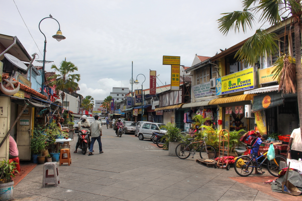 Little India in George Town, Penang, Malaysia