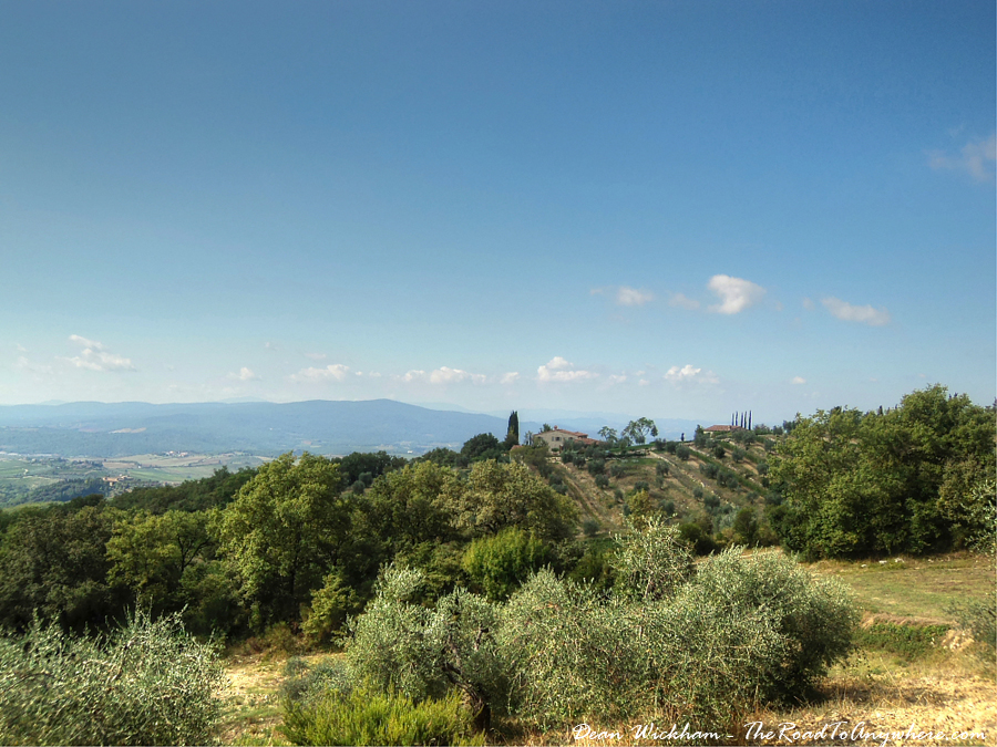 Country View in Chianti, Italy