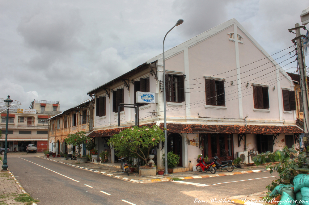 French Colonial architecture in Savannakhet, Laos