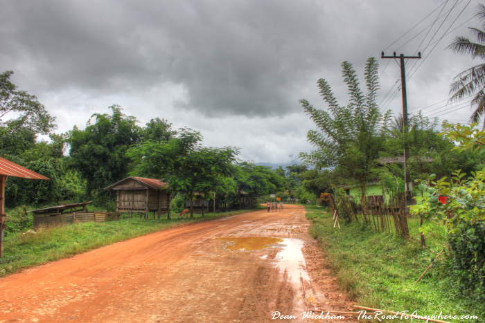 Country village near Vang Vieng, Laos