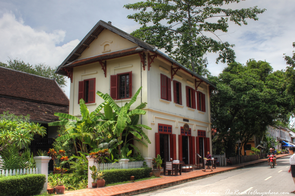 Picturesque restaurant in Luang Prabang, Laos